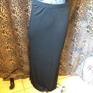 MICHAEL KORS Black Maxi Skirt size M
